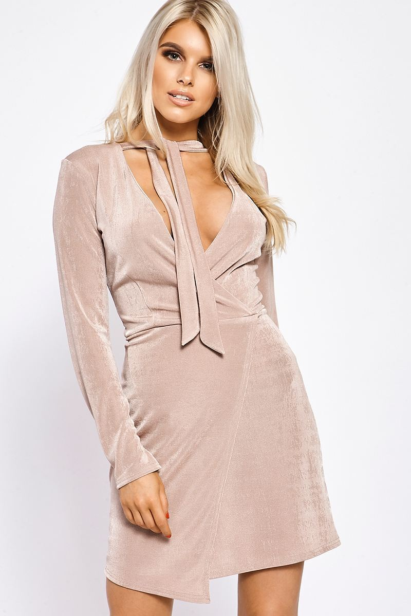 7c2c49aec9 Buy billie faiers wrap front slinky dress . Shop every store on the ...