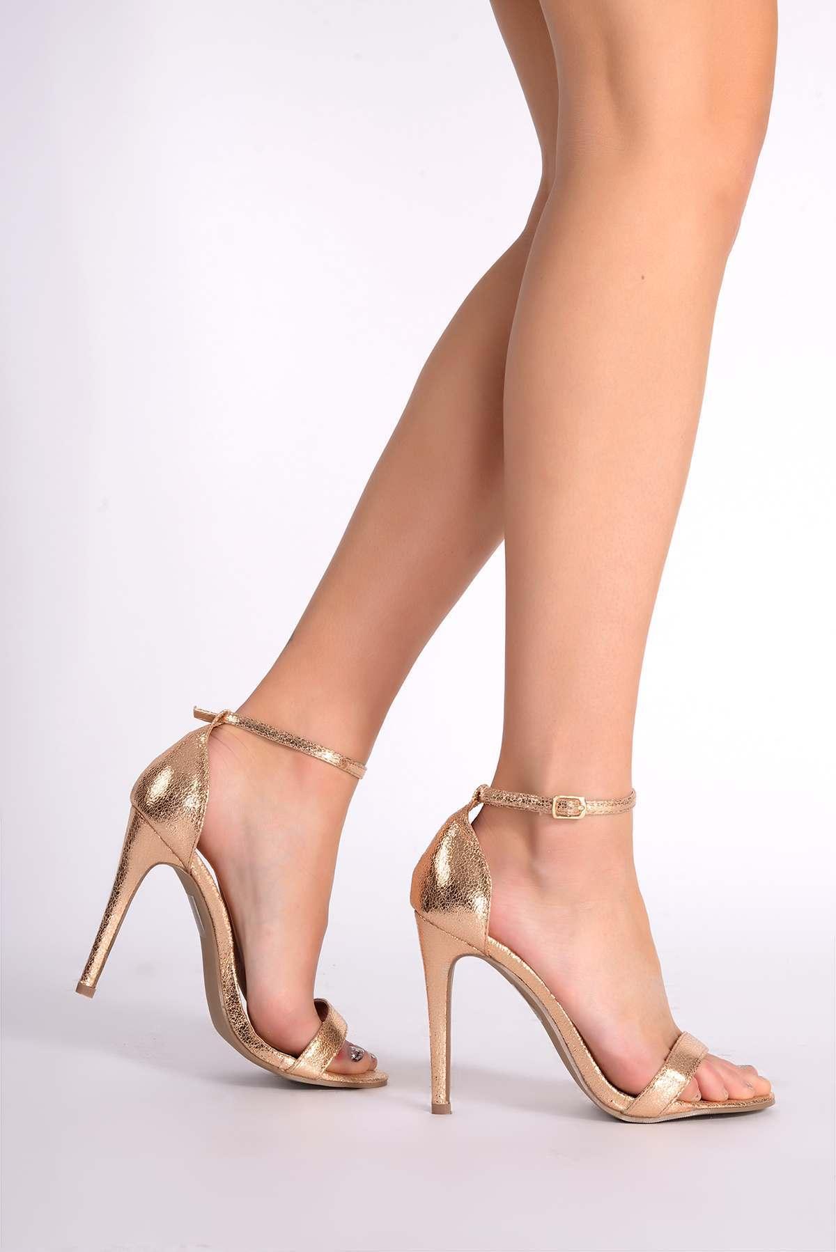 10f940b6c3fa marney rose gold ankle strap heels available via PricePi.com. Shop ...