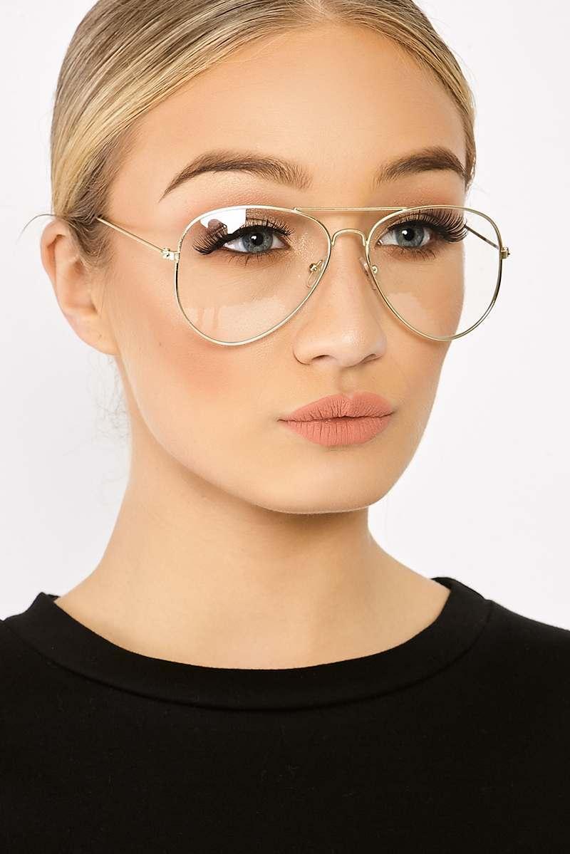 4d222a42871 Clear Aviator Glasses