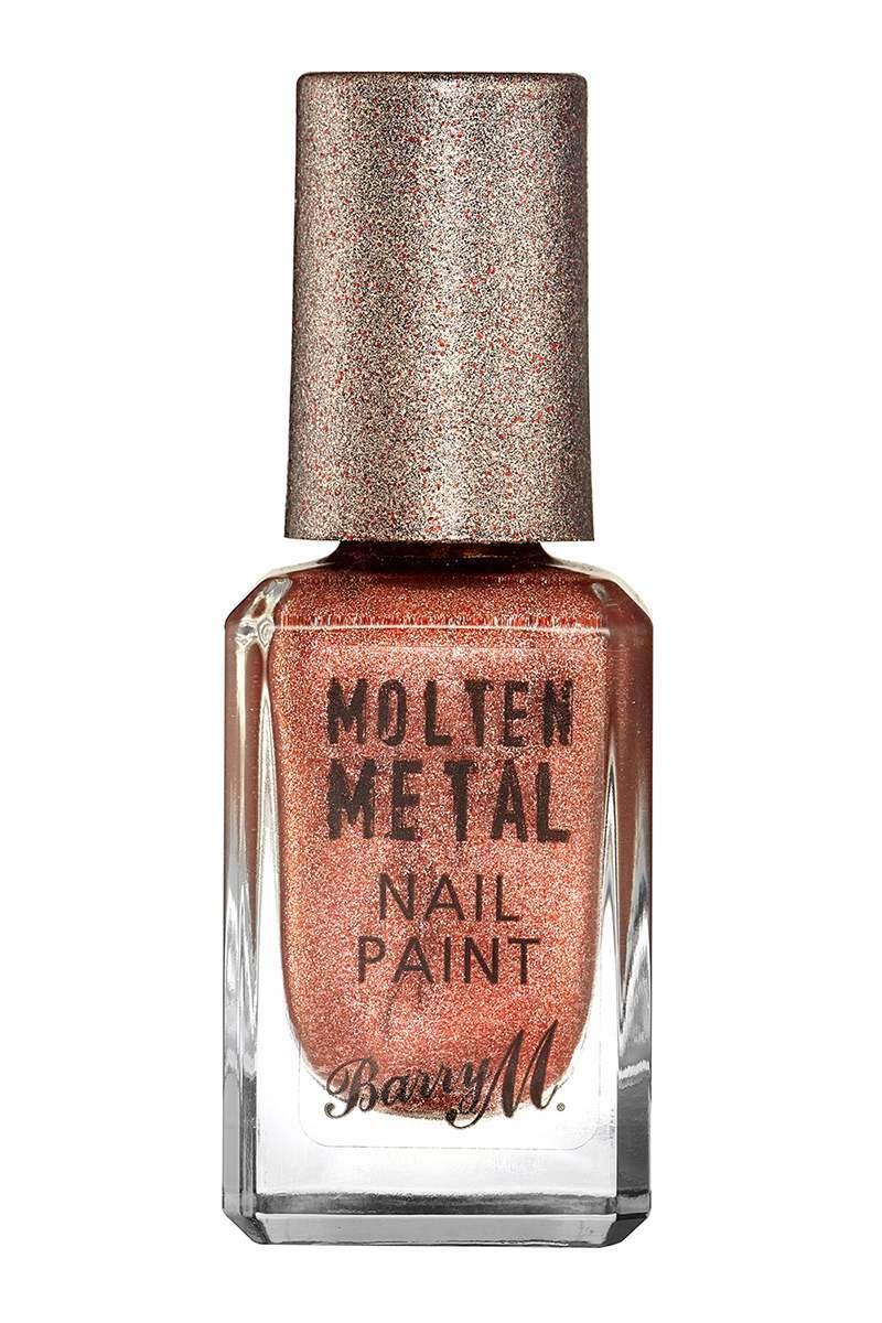 Mines  Barry M Molten Metals Nail Polish Copper Mine