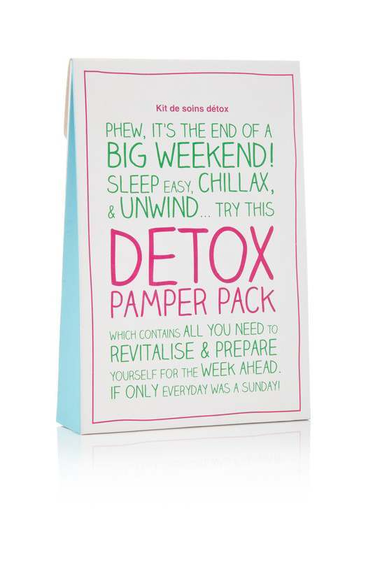 Packs  Detox Pamper Pack 4 Pack