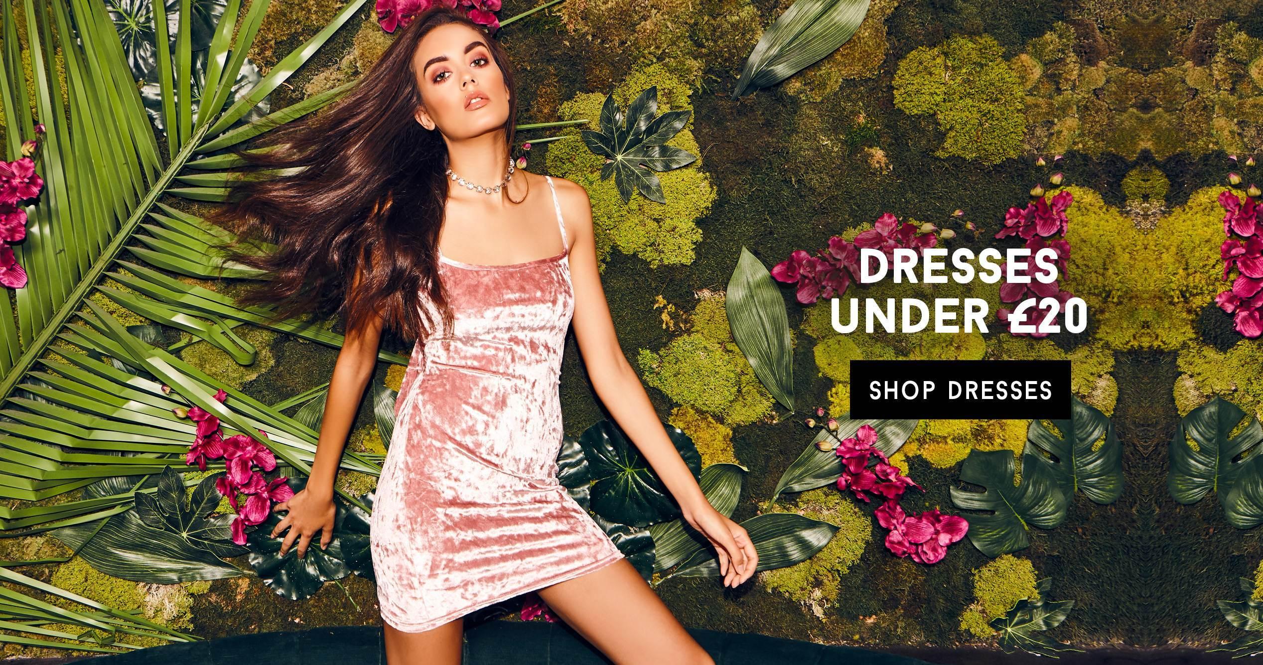 DRESSES UNDER £20
