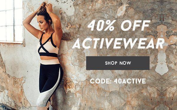 UK - 40% off Activewear 13/12
