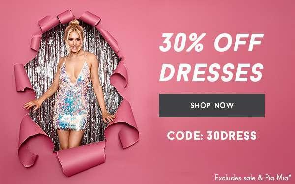 UK - 30% OFF DRESSES 13/12