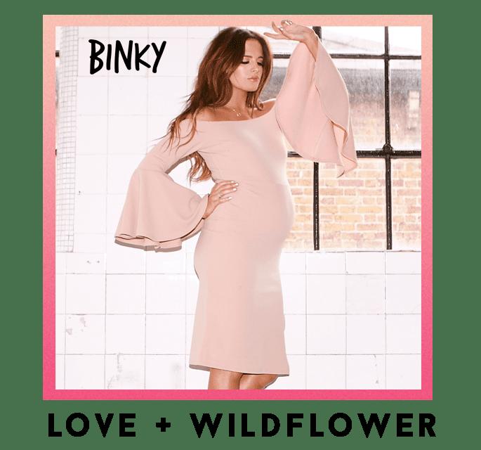 Binky Love + Wildflower CTA