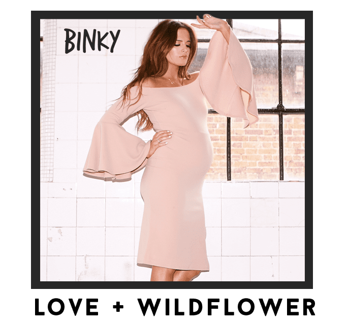 Binky Love + Wildflower CTA