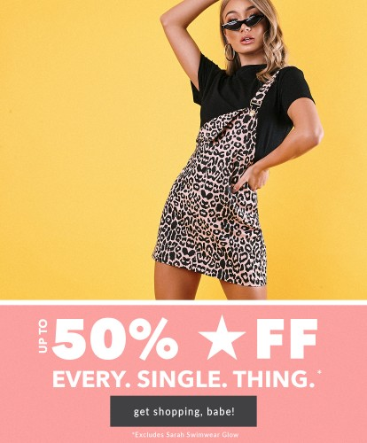 UK - 50% OFF EVERYTHING 20/06