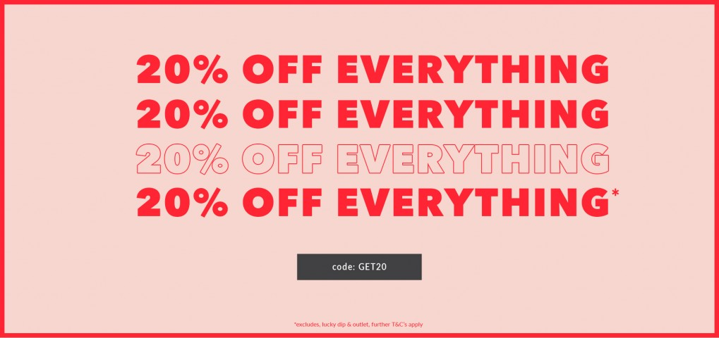 UK - 20% SITEWIDE 18/07